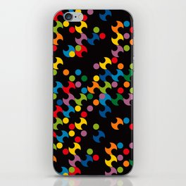 DOTS - polka 2 iPhone Skin
