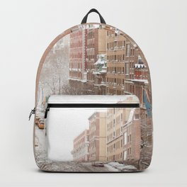 Snow Day in the Upper West Side Backpack