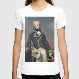 Portrait of Lafayette by Joseph désiré Court T-shirt