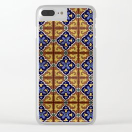 Tiles - VI Clear iPhone Case