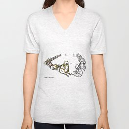 there is no secret Unisex V-Neck