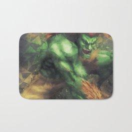 Street Fighter 2 - Blanka Bath Mat