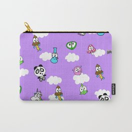 Purple skies Carry-All Pouch