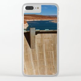 Glen Canyon Dam and Lake Powell Clear iPhone Case