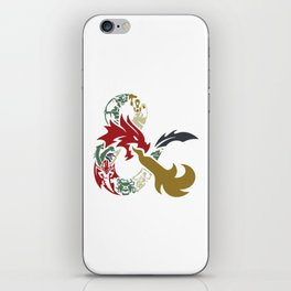 Dungeons & Dragons iPhone Skin