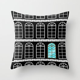 Dream Room Throw Pillow