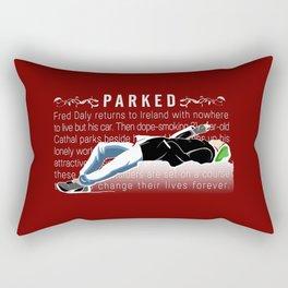 Parked Rectangular Pillow