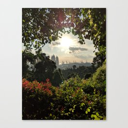 Singapore Sunset from Mount Faber Canvas Print