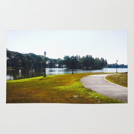The Lakeshore from home Rug