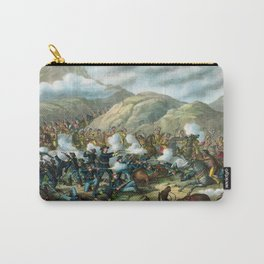 Little Bighorn - Custer's Last Stand Carry-All Pouch