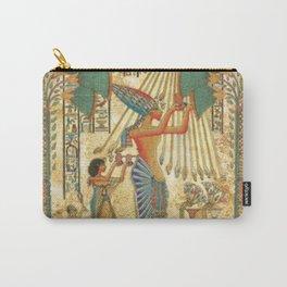 egyptian man sun god ra amun Carry-All Pouch