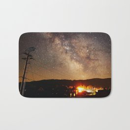 The Salty Raven of Cape Meares Milky Way Bath Mat