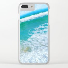 In the middle of the day Clear iPhone Case