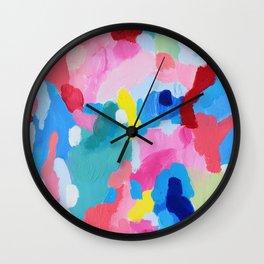 Prismatic optasia Wall Clock