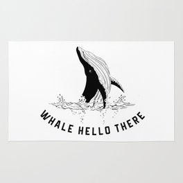 Whale Hello There! Rug