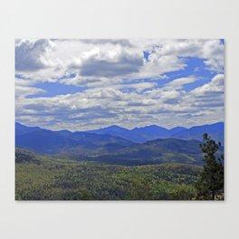 The Adirondack High Peaks Canvas Print