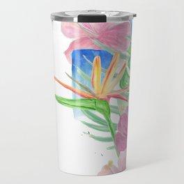 Malia's Tropical Print Travel Mug