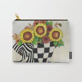 Sunflower Tea Carry-All Pouch