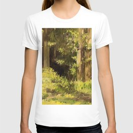 Woodland Landscape Nature Art T-shirt