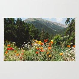 Mountain garden Rug