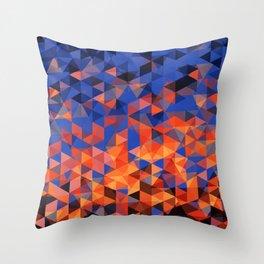 Christals Throw Pillow