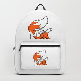 Fox Tail Lettering Backpack