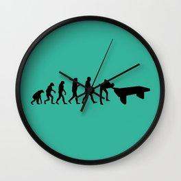 Evolution snooker Wall Clock