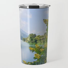 PHEWA LAKE POKHARA NEPAL  Travel Mug