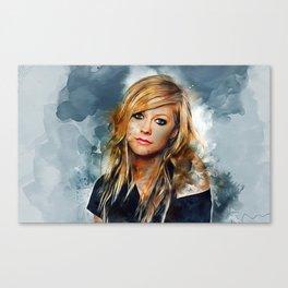 Avril Lavigne Canvas Print