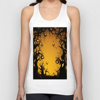 scary Tank Tops featuring SCARY HALLOWEEN by Acus