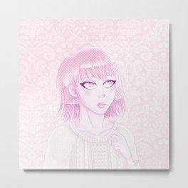 Stardust Pink Metal Print