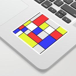 Mondrian #25 Sticker