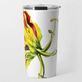 Gloriosa Lily Travel Mug