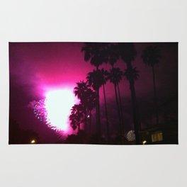 Fireworks in Laguna Beach Rug
