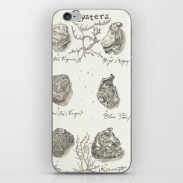 Oysters iPhone Skin