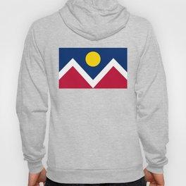 Denver, Colorado city flag - Authentic High Quality Hoody