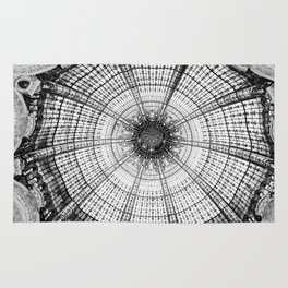 Glass dome Rug