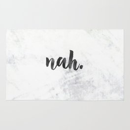 NAH Marble Quote Rug