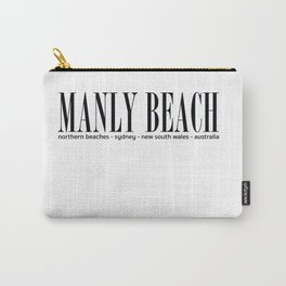 Manly Beach Address Carry-All Pouch
