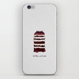 Let Them Eat Cake iPhone Skin