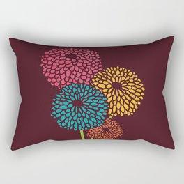 Still Life Chrysanthemum Rectangular Pillow