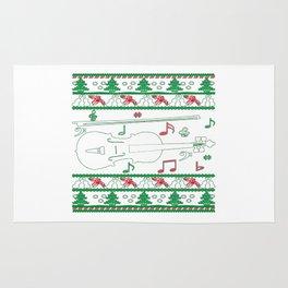 Violin Christmas Rug
