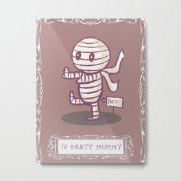 party mummy Metal Print