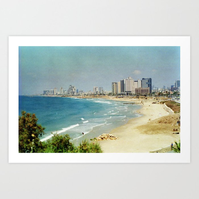 Dreamy Beach Art Print
