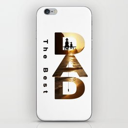 Gift for the dad iPhone Skin
