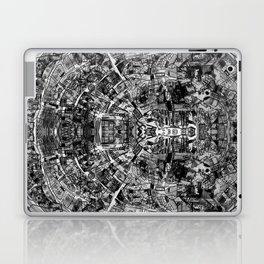 Mirrored Black and White Cityplan Laptop & iPad Skin