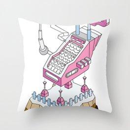 ornament_factory_2 Throw Pillow