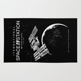 ISS-International Space Station-NSA-ESA-Soyuz-Space Shuttle-Astronomy Rug