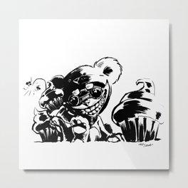 Teddy Ziggs Metal Print