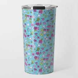 Flowers, Clovers & Diamonds Travel Mug